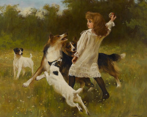 Art Prints of Fetch by Arthur Wardle