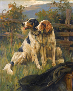 Art Prints of Gundogs by Arthur Wardle