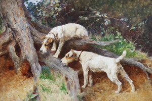 Art Prints of Will He Bolt? by Arthur Wardle