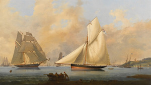 Art Prints of Yacht from the Yacht Club of Russia by Arthur Wellington Fowles