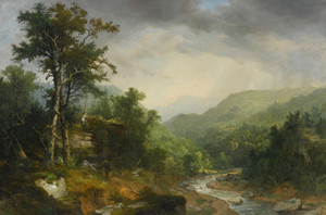 Art Prints of A Showery Day Among the Mountains by Asher Brown Durand