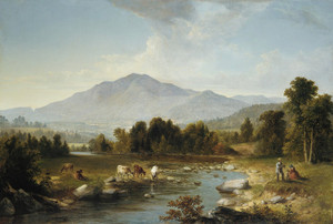 Art Prints of High Point, Shandaken Mountains by Asher Brown Durand