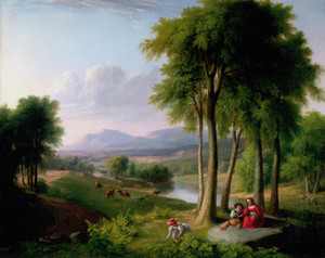 Art Prints of View Near Rutland, Vermont by Asher Brown Durand