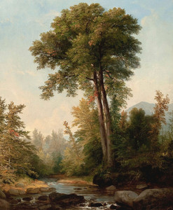 Art Prints of Untitled Landscape by Asher Brown Durand