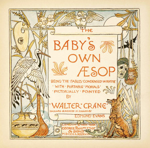 Art Prints of Title Page Illustration, Aesop's Fables