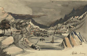 Art Prints of Molde, Norwegian Village on the Moldefjorden (22915L) by Bayard Taylor