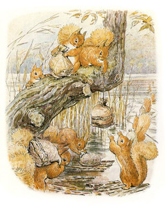 Art Prints of Tale of Squirrel Nutkin by Beatrix Potter