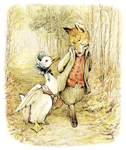 Art Prints of Jemima Puddle Duck and the Fox by Beatrix Potter