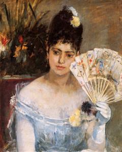 Art Prints of At the Ball by Berthe Morisot