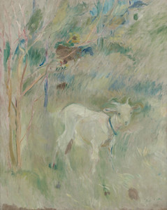 Art Prints of Collette the Sheep by Berthe Morisot