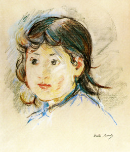 Art Prints of Country Woman, Nicoise by Berthe Morisot