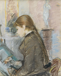 Art Prints of Paule Gobillard Drawing by Berthe Morisot