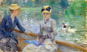 Art Prints of Summer Day by Berthe Morisot