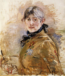 Art Prints of Self Portrait by Berthe Morisot