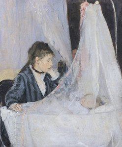 Art Prints of The Cradle by Berthe Morisot