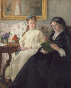 Art Prints of The Mother and Sister of the Artist by Berthe Morisot