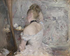 Art Prints of Women at Her Toilette by Berthe Morisot