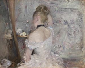 Art Prints of Women at Her Toilette by Berthe Morisot