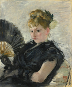 Art Prints of Woman with a Fan by Berthe Morisot