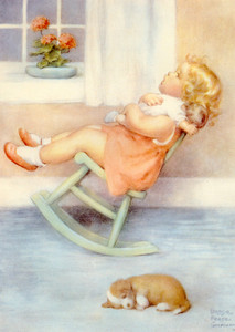 Art Prints of A Peaceful Close by Bessie Pease Gutmann