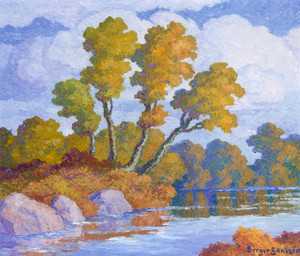 Art Prints of Autumn by Birger Sandzen