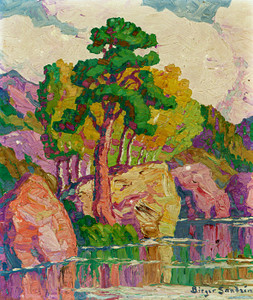 Art Prints of Pine and Aspen by Birger Sandzen