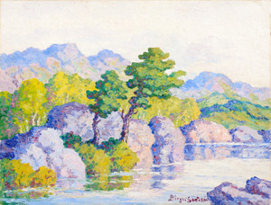 Art Prints of Willows and Cottonwoods by Birger Sandzen