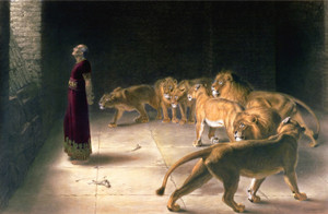 Art Prints of Daniel's Answer to the King by Briton Riviere