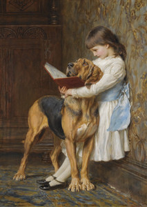 Art Prints of Compulsory Education by Briton Riviere
