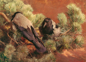 Art Prints of Hooded Crows by Bruno Liljefors
