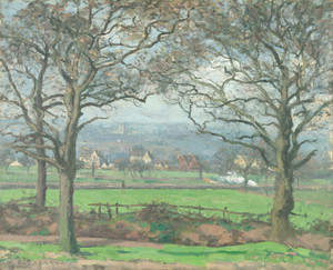 Art Prints of Near Sydenham Hill by Camille Pissarro