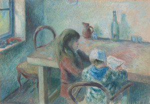 Art Prints of The Children by Camille Pissarro