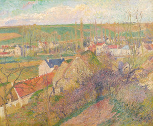 Art Prints of Village View, Osny by Camille Pissarro
