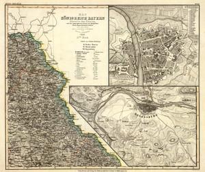 Art Prints of Bayern, 1858 (4807034) by Carl Franz Radefeld and Joseph Meyer
