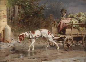 Art Prints of On the Way to Market by Carl Reichert