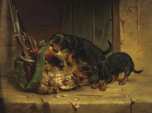 Art Prints of The Day's Trophies by Carl Reichert