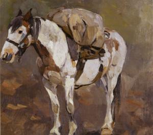 Art Prints of Pack Horse by Carl Rungius