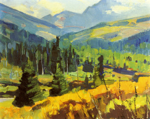 Art Prints of Summer Landscape by Carl Rungius