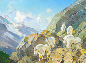 Art Prints of Above Treeline by Carl Rungius