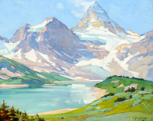 Art Prints of Mt. Assiniboine by Carl Rungius