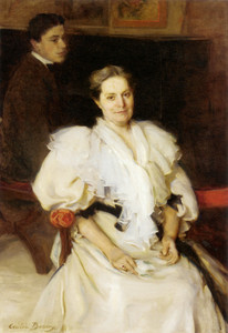 Art Prints of Mrs. Beauveau and Her Son Adolphe by Cecilia Beaux