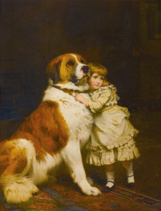 Art Prints of Good Friends by Charles Burton Barber