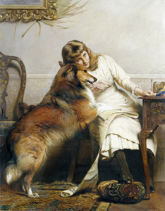 Art Prints of Sweethearts by Charles Burton Barber