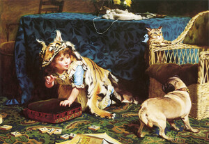 Art Prints of The Tiger by Charles Burton Barber