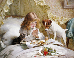 Art Prints of Suspense by Charles Burton Barber