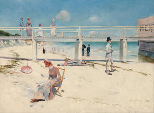 Art Prints of A Holiday at Mentone by Charles Conder