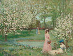 Art Prints of The Howe in Spring by Charles Conder
