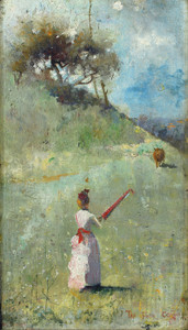 Art Prints of The Fatal Colours, 1888 by Charles Conder