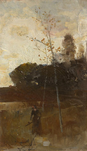 Art Prints of The Path from the Woods by Charles Conder
