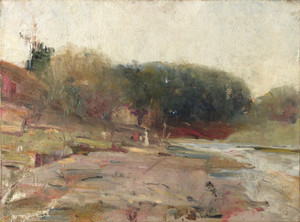 Art Prints of On the River Yarra near Heidelberg, Victoria by Charles Conder